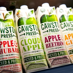 Cawston Press Juices at Muddy Boots